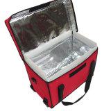 Тепловой изоляцией женская сумка охладителя доставки продовольствия для питья банок