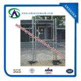 Clôture de treillis métallique (frontière de sécurité de maillon de chaîne)