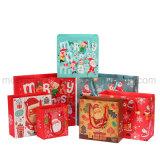 El mini regalo de la impresión de encargo empaqueta al por mayor para la Navidad