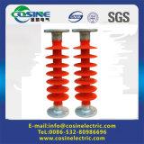 Tipo vertical línea aislador del poste/aislador compuesto de la abrazadera