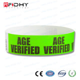 Wristband do costume RFID Tyvek no rolo
