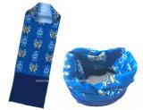 I prodotti della fabbrica della Cina progettano il Bandana per il cliente tubolare del panno di Hoo del poliestere