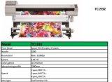 1,9 m de l'imprimante Sublimation Transfert de chaleur avec 2PCS Epson 5113 chefs