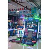 동전에 의하여 운영하는 아케이드 드럼과 춤 중심 게임 기계 음악 게임 기계