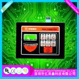 Interruptor de membrana adhesivo 3m gráfico LED del teclado superpuesto