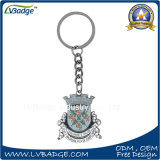 Presente relativo à promoção metal impresso Keychain do logotipo