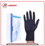 Éénmalige Inspectie van de Handschoenen van het Kapsel van de Tatoegeringen van de Olie van de Handschoen van het latex de Rubber Antistatische Zwarte Tand