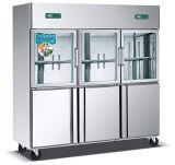 De Diepvriezer van de Keuken van het Glas van de Deuren van Astar Kcd1.6L3b3t 6 en Directe KoelKeukenkast