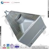 주문을 받아서 만들어진 Aluminuum 격판덮개 탄미익 공기에 의하여 냉각되는 공기 압축기 열교환기