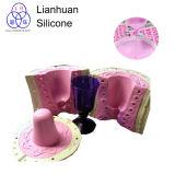 Muffe del calcestruzzo del cilindro che fanno il contenitore liquido del fiore della gomma di silicone