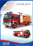Gomma piuma 8t di Dongfeng Nissan di vendita/camion dei vigili del fuoco diesel caldi Gemellare-Agente della polvere