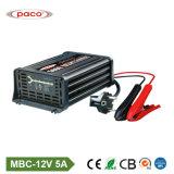 chargeur externe universel portatif de batterie de voiture d'ordinateur portatif de 7-Stage 12V 5A