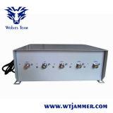 5 Jammer сигнала сотового телефона наивысшей мощности 3G полосы 75W (до 100 метров)