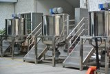 100L, 200L, réservoir de mélange revêtu de double de l'acier inoxydable 500L