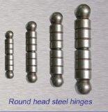 2017普及した、最も安い円形のヘッド鋼鉄ヒンジ