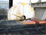 Hightech- Stein-/Granit-/Marmorbrücke sah mit Gehren zu schneiden