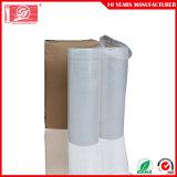 Abrigo de la paleta de LLDPE que empaqueta la película transparente del abrigo del estiramiento con la fábrica directa