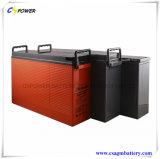 Bateria de alta temperatura 12V 160ah do gel para telecomunicações solares