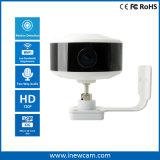 cámara granangular casera elegante del IP de la seguridad de 720p WiFi