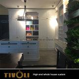 Vanità dei guardaroba delle cucine personalizzata disegno della mobilia della Camera piena per le ville Tivo-005VW