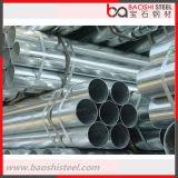 ERW ha galvanizzato il tubo d'acciaio galvanizzato del TUFFO caldo del tubo