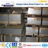 Placa de acero de Stainelss de la rayita del cepillo de Asstm AISI 304