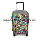 Couverture épaisse et extensible de Luckiplus de bagage de la couverture 320GSM de valise