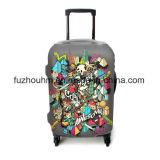 Крышка Luckiplus толщиная и Stretchy багажа крышки 320GSM чемодана