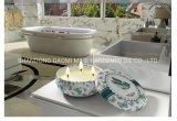 Candela nel barattolo di latta, candela naturale della soia della stretta della Camera della soia