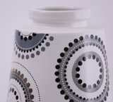 Flowerpot di ceramica di superficie vetroso