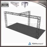 Ферменная конструкция освещения ферменной конструкции будочки выставки на сбывании