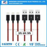 Acessórios de telefone de cabo de dados USB 2.1A para iPhone