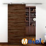 Hecho en diseño de madera del polaco de la puerta del solo diseño de la puerta de China