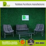 Mobilia esterna del rattan del salotto del giardino stabilito sezionale di vimini del sofà