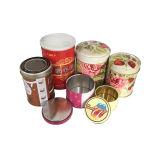 卸し売り正方形の内部のふたが付いている整形茶缶