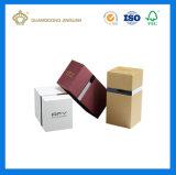 Коробка дух картона роскошной циновки белая твердая бумажная с крышкой (с внутренним подносом сатинировки)