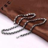 Form-Punkart-Edelstahl-lange Halskette für Unisex