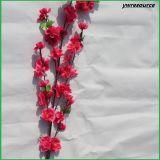 Fiori falsi del fiore della pesca dei fiori artificiali per la decorazione domestica di cerimonia nuziale