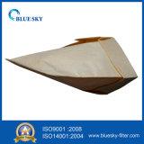 Sacchetto filtro della polvere di carta del Brown per l'aspirapolvere