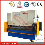 O CNC pressiona do controle inoxidável de aço do Nc da máquina de dobra da folha da placa do metal dos freios de confiança hidráulico