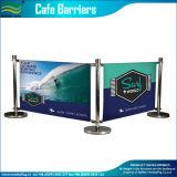 Facendo pubblicità alla barriera ritrattabile esterna del caffè del Windbreak (B-NF22M01108)
