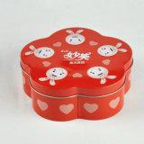 Tee-verpackenkasten-quadratischer Tee-Zinn-Kasten