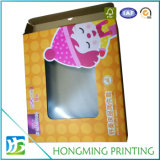 Caixa de embalagem de PVC transparente de papelão dobrável
