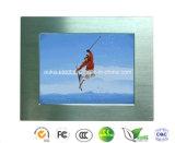 15 Zoll Heiß-Verkaufender schroffer industrieller LCD-Monitor mit VGA+DVI IP65