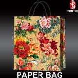 꽃 시리즈 2017년 새로 디자인된 서류상 쇼핑 백