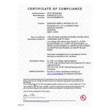 L'UL a reconnu la bande de RGBA SMD2835 DEL