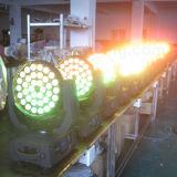 lumière principale mobile de lavage de 36X10W DEL avec du ce RoHS