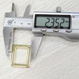Изготовленный на заказ пряжка квадрата кольца квадрата пряжки Webbing металла