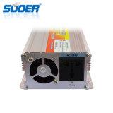 Suoer DC 12V 충전기 (SUA-2000C)를 가진 2000W에 의하여 변경되는 사인 파동 힘 변환장치