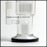 Hfy 2 Percsのバブラーのガラス配水管によって煙ることのための20のアームトロPyrex